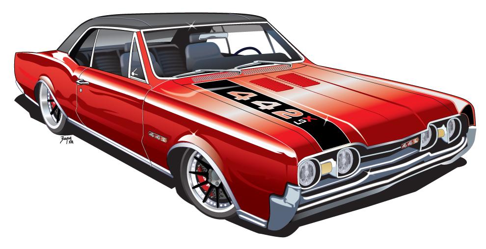 Kindig It Design Logo >> 1967 442 rendering